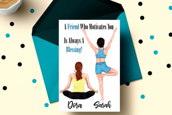 Yoga Girls Clipart Graphic Illustrations By LeCoqDesign - Image 5