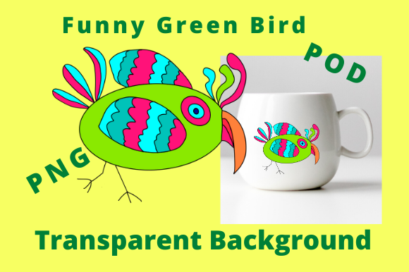 Download Free 1 Green Bird Designs Graphics for Cricut Explore, Silhouette and other cutting machines.