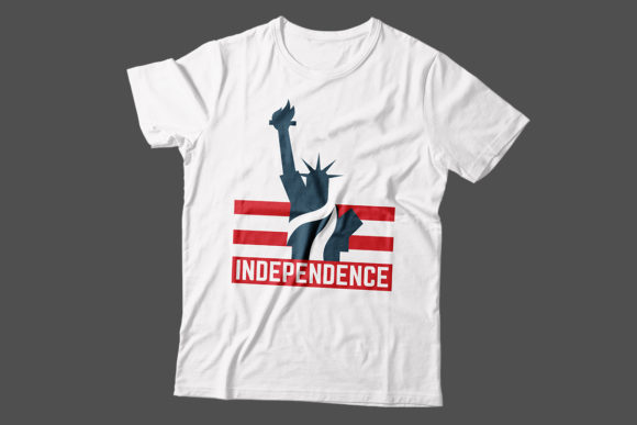 Download Free Independence 4th Of July T Shirt Design Graphic By Storm Brain Creative Fabrica for Cricut Explore, Silhouette and other cutting machines.