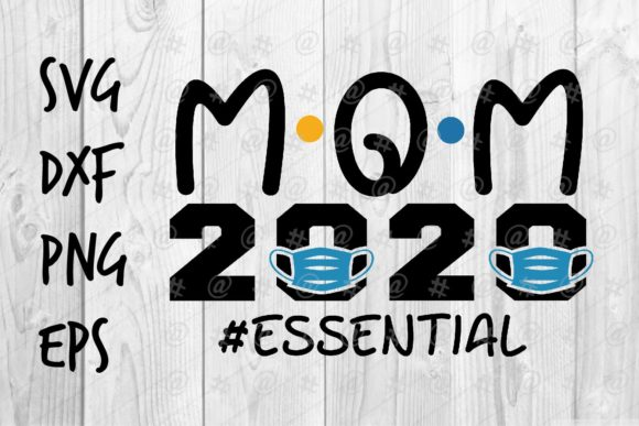Download Free Mom 2020 Graphic By Spoonyprint Creative Fabrica for Cricut Explore, Silhouette and other cutting machines.