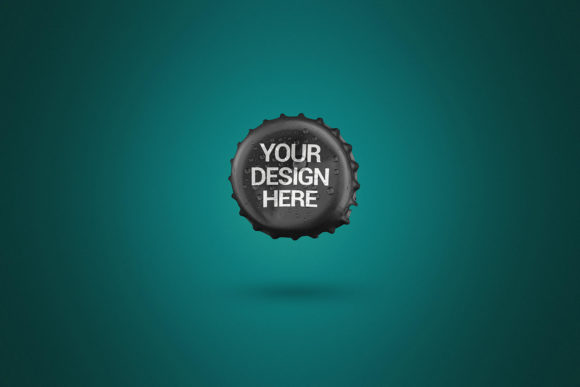 Opened Beer Cap Mockup Graphic Product Mockups By SmartDesigns