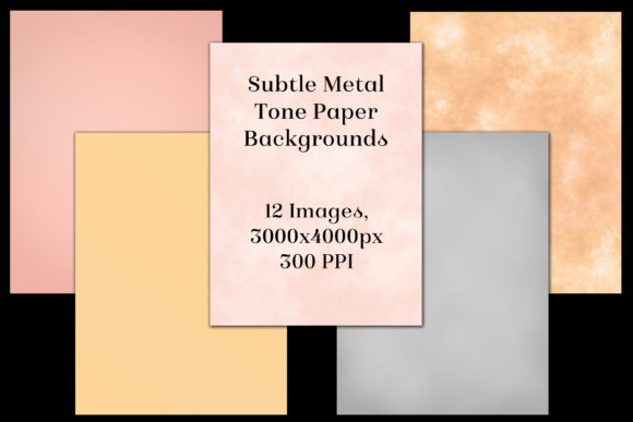 Subtle Metal Tone Paper Backgrounds Graphic By Sapphirexdesigns