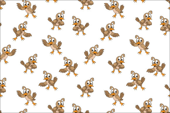 Download Free Cute Bird Pattern Graphic By Curutdesign Creative Fabrica for Cricut Explore, Silhouette and other cutting machines.