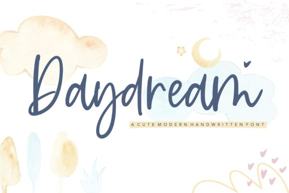Print on Demand: Daydream Script & Handwritten Font By Balpirick