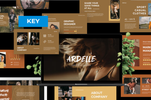 Download Free Ardelle Creative Keynote Graphic By Temp Here Creative Fabrica for Cricut Explore, Silhouette and other cutting machines.