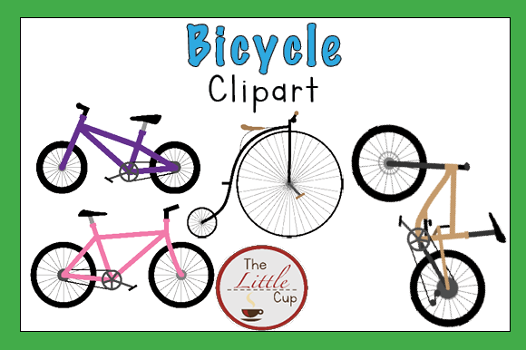 Bicycle Clipart Graphic