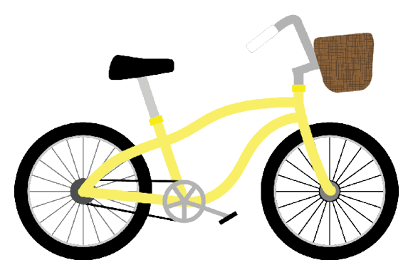 Bicycle Clipart Graphic Design