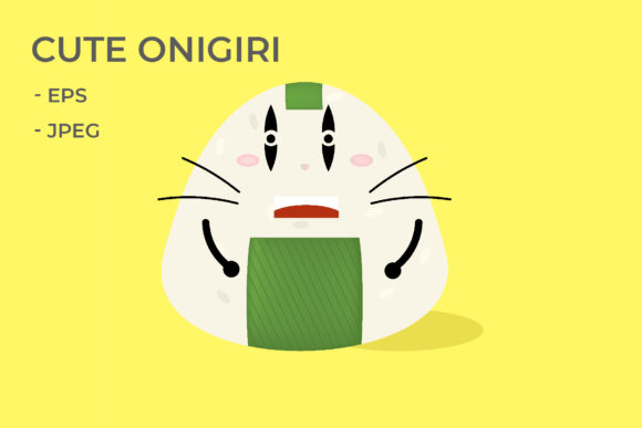 Download Free Cute Animal Onigiri Graphic By Griyolabs Creative Fabrica for Cricut Explore, Silhouette and other cutting machines.