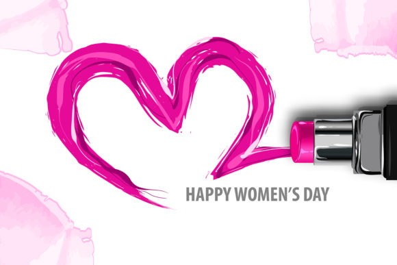 Download Free Fashion Make Up Woman Poster Woman S Day Graphic By Kapitosh for Cricut Explore, Silhouette and other cutting machines.