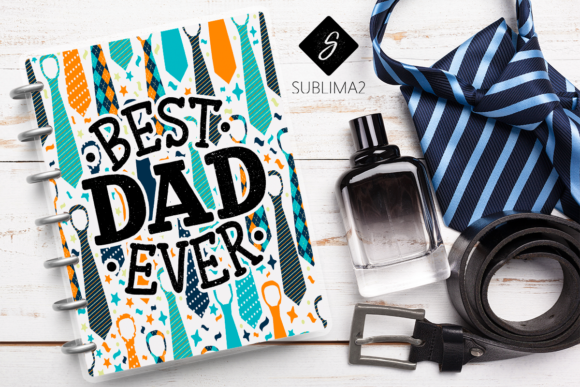 Download Free Father S Day Notebook Pdf Graphic By Sublima2 Creative Fabrica SVG Cut Files