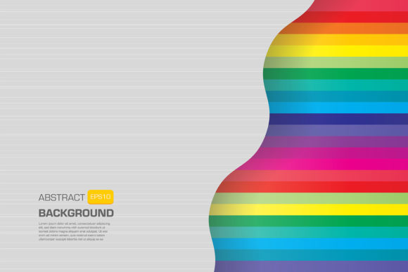 Geometric Colored Line Background Design Graphic Backgrounds By Kapitosh