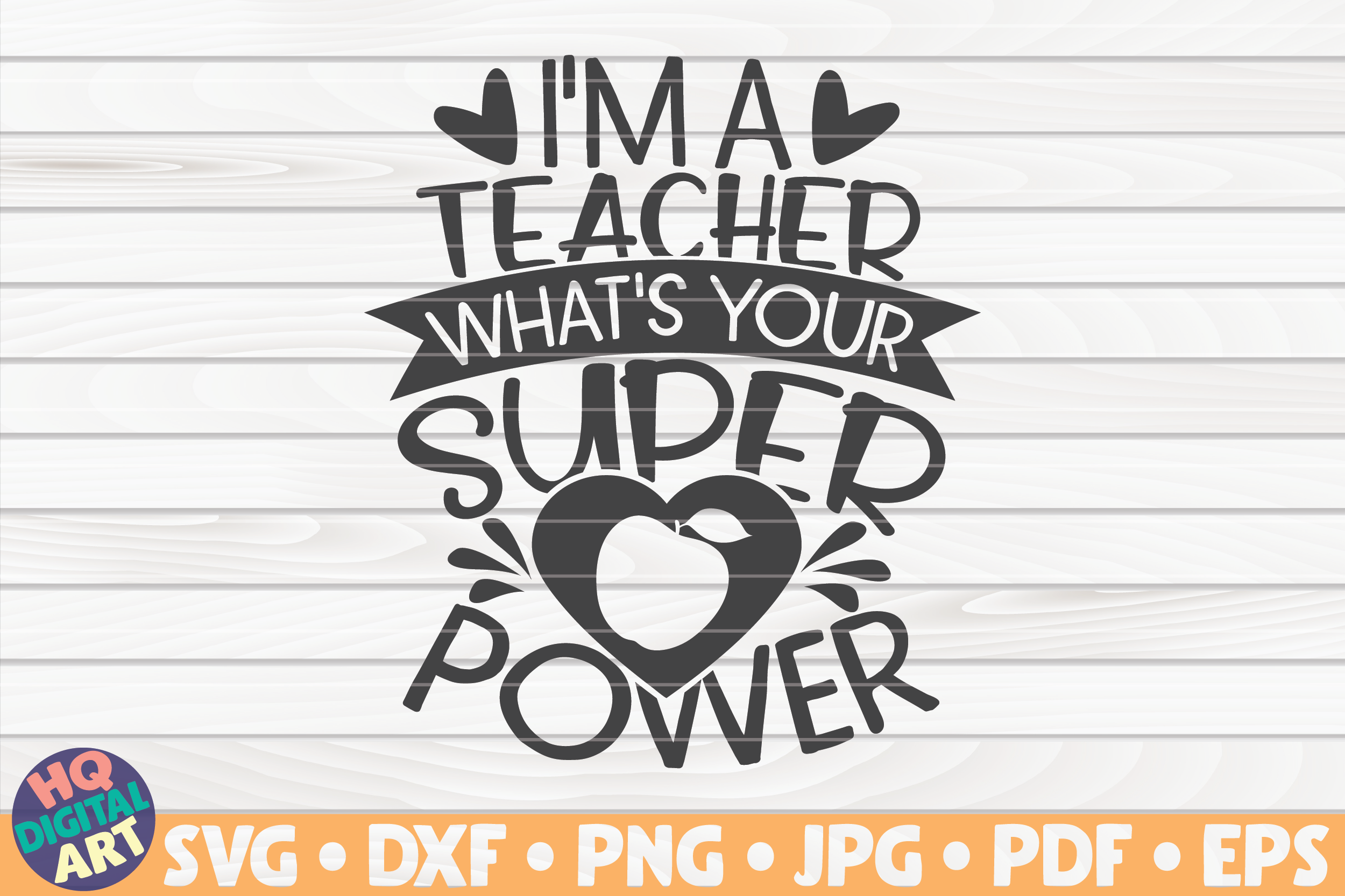 Download Free I M A Teacher What S Your Superpower Graphic By Mihaibadea95 for Cricut Explore, Silhouette and other cutting machines.