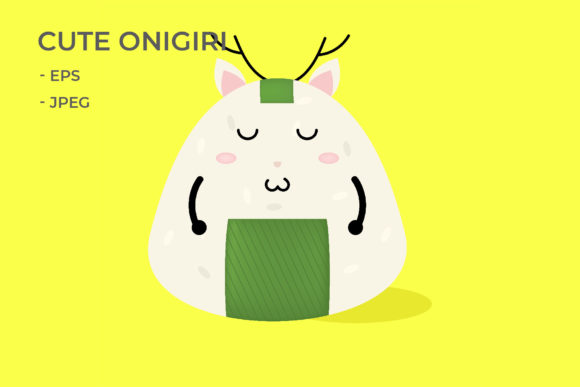 Download Free Smile Expression Onigir Graphic By Griyolabs Creative Fabrica for Cricut Explore, Silhouette and other cutting machines.