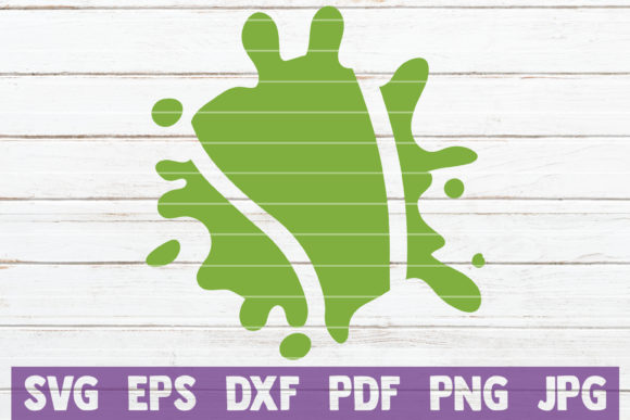 Download Free Splash Tennis Graphic By Mintymarshmallows Creative Fabrica for Cricut Explore, Silhouette and other cutting machines.