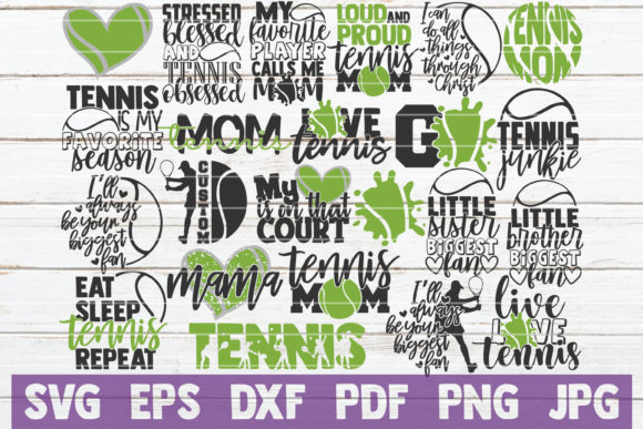 Download Free 1 Tennis Dad Svg Designs Graphics for Cricut Explore, Silhouette and other cutting machines.