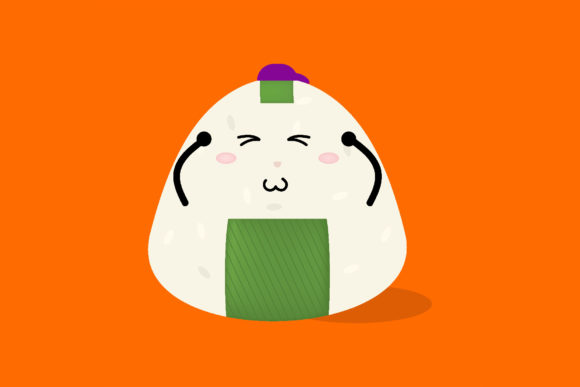 Download Free Thinking Out Loud Expression Onigiri Graphic By Griyolabs for Cricut Explore, Silhouette and other cutting machines.