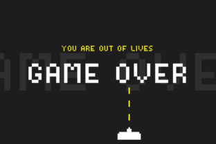 Print on Demand: Video Game Display Font By Salt and Pepper Fonts 3