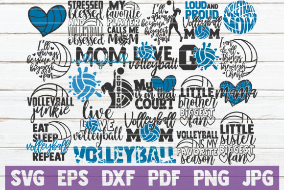Download Free 1 Funny Cute Volleyball Designs Graphics for Cricut Explore, Silhouette and other cutting machines.