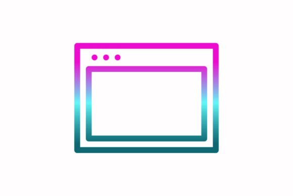 Download Free Browser Rainbow Coloring Icon Graphic By Astuti Julia93 Gmail for Cricut Explore, Silhouette and other cutting machines.