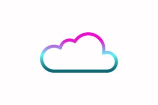 Cloud Rainbow Coloring Icon Graphic Icons By astuti.julia93@gmail.com