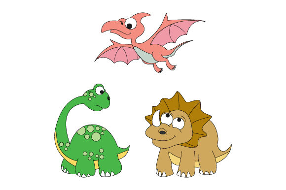Download Free Funny Dinosaur Graphic By Curutdesign Creative Fabrica for Cricut Explore, Silhouette and other cutting machines.