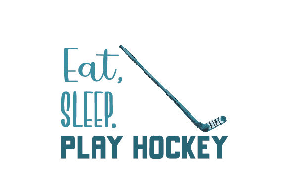 Download Free Eat Sleep Play Hockey Svg Cut File By Creative Fabrica Crafts for Cricut Explore, Silhouette and other cutting machines.