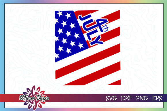 Download Free 1 4th Of July American Flag Svg Designs Graphics for Cricut Explore, Silhouette and other cutting machines.