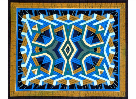All That Glitters Crystal Quilt Pattern Graphic
