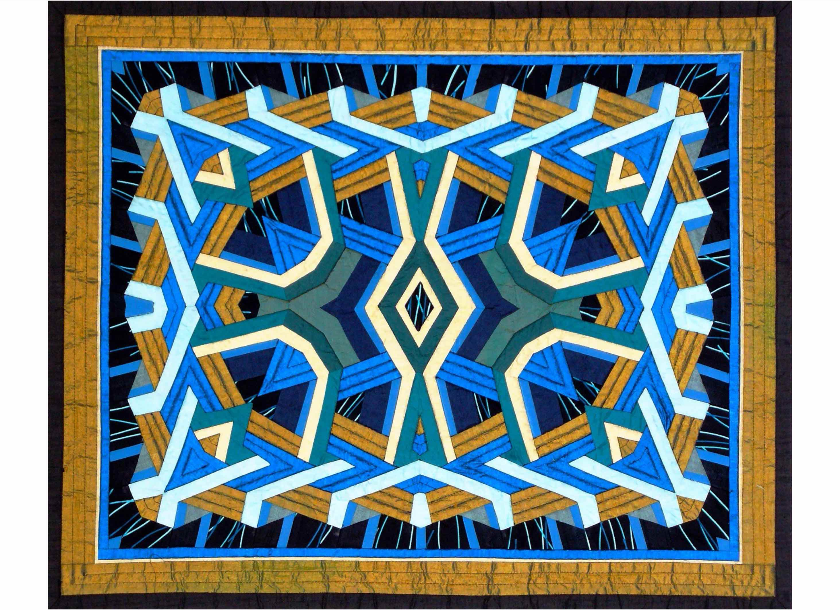 All That Glitters Crystal Quilt Pattern Graphic By Dena Dale