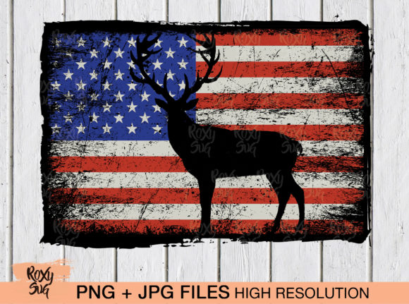 American Flag Graphic By Roxysvg26 Creative Fabrica