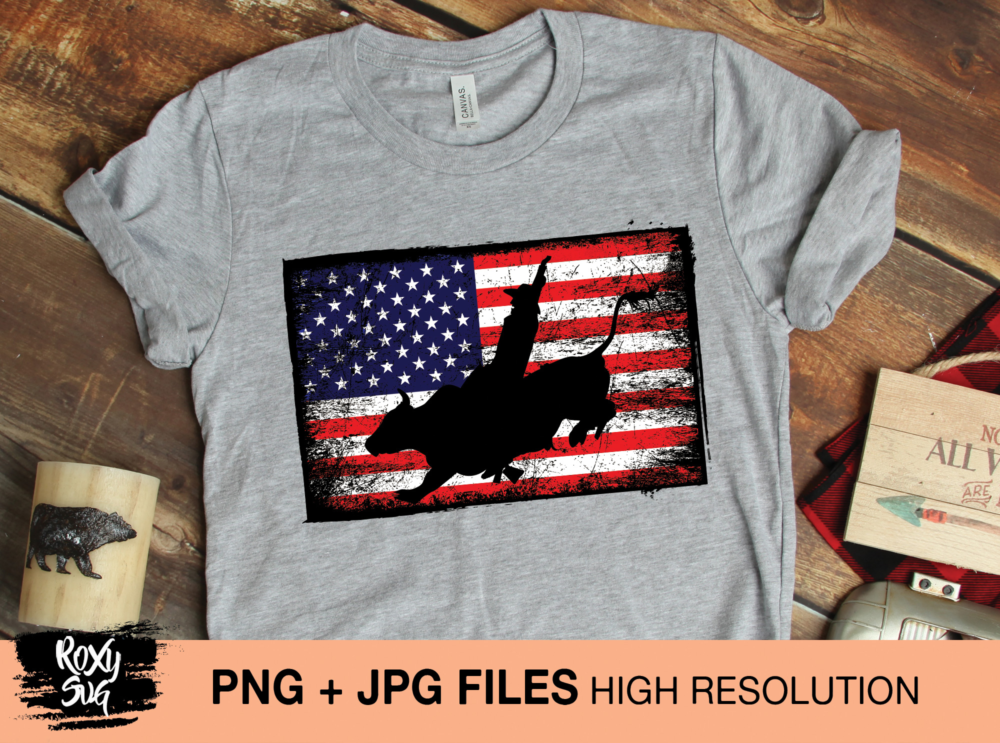 Download Free American Flag Graphic By Roxysvg26 Creative Fabrica SVG Cut Files