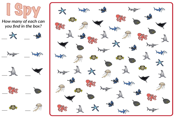 Animal I Spy Bundle Graphic Teaching Materials By marie9 - Image 2