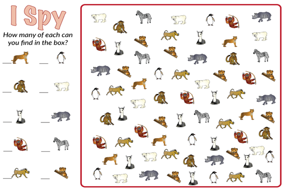 Animal I Spy Bundle Graphic Teaching Materials By marie9 - Image 4