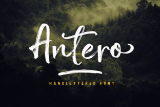Print on Demand: Antero Script & Handwritten Font By Franstudio