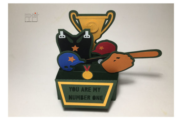 Download Free Baseball Card Graphic By Patrizia Moscone Creative Fabrica for Cricut Explore, Silhouette and other cutting machines.