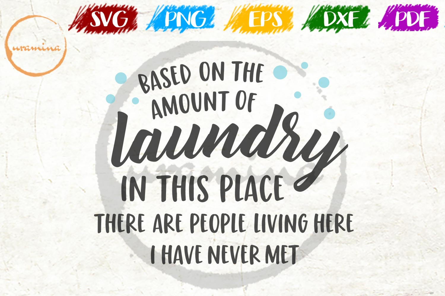 Download Free Based On The Amount Of Laundry Graphic By Uramina Creative Fabrica for Cricut Explore, Silhouette and other cutting machines.
