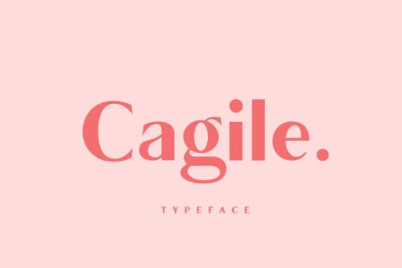 Print on Demand: Cagile Sans Serif Font By JavaPep