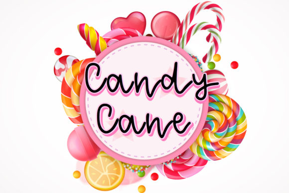 Print on Demand: Candy Cane Script & Handwritten Font By The Gelato