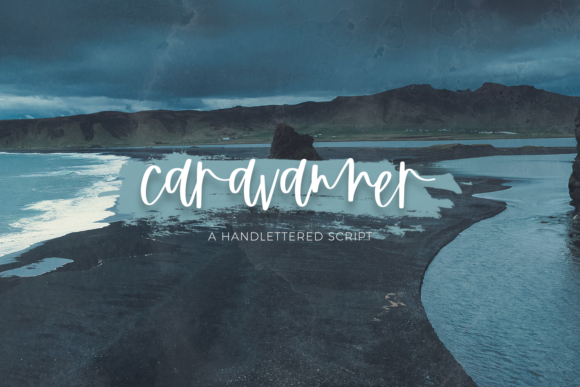 Print on Demand: Caravanner Script & Handwritten Font By BeckMcCormick