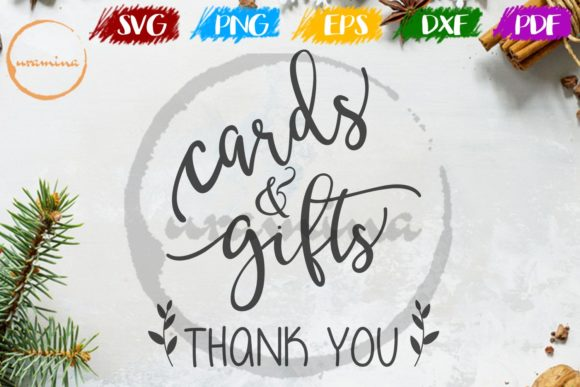 Download Free Cards And Gifts Thank You Graphic By Uramina Creative Fabrica for Cricut Explore, Silhouette and other cutting machines.