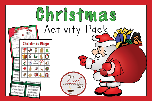 Christmas Activity Pack Graphic Teaching Materials By marie9