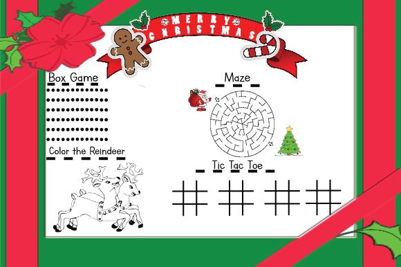 Christmas Activity Pack Graphic By Marie9 Creative Fabrica