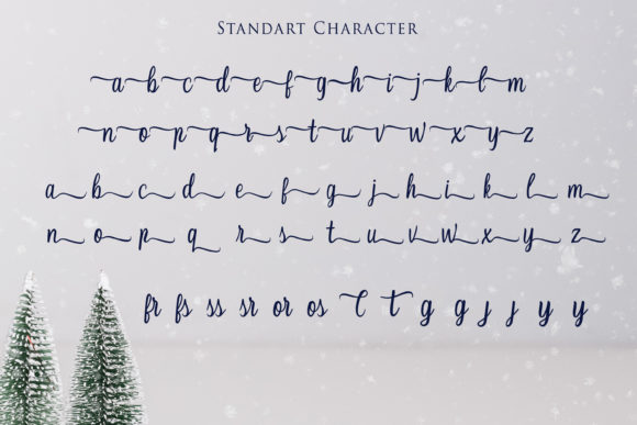 Print on Demand: Christmas Script & Handwritten Font By Girinesia - Image 10