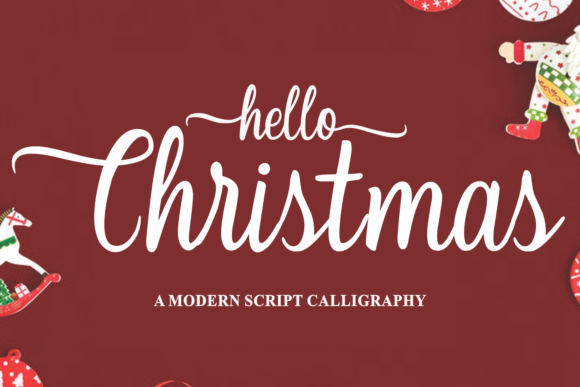 Print on Demand: Christmas Script & Handwritten Font By Girinesia - Image 3