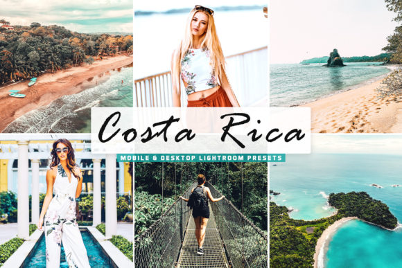 Print on Demand: Costa Rica Lightroom Presets Pack Graphic Actions & Presets By Creative Tacos