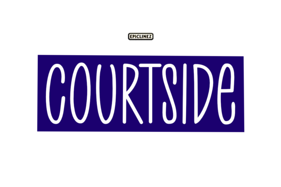 Print on Demand: Courtside Script & Handwritten Font By Epiclinez