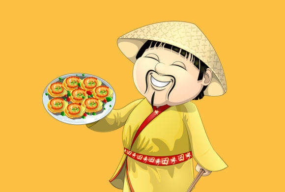 Cute Asian Graphic Illustrations By dhenstudio23 - Image 2