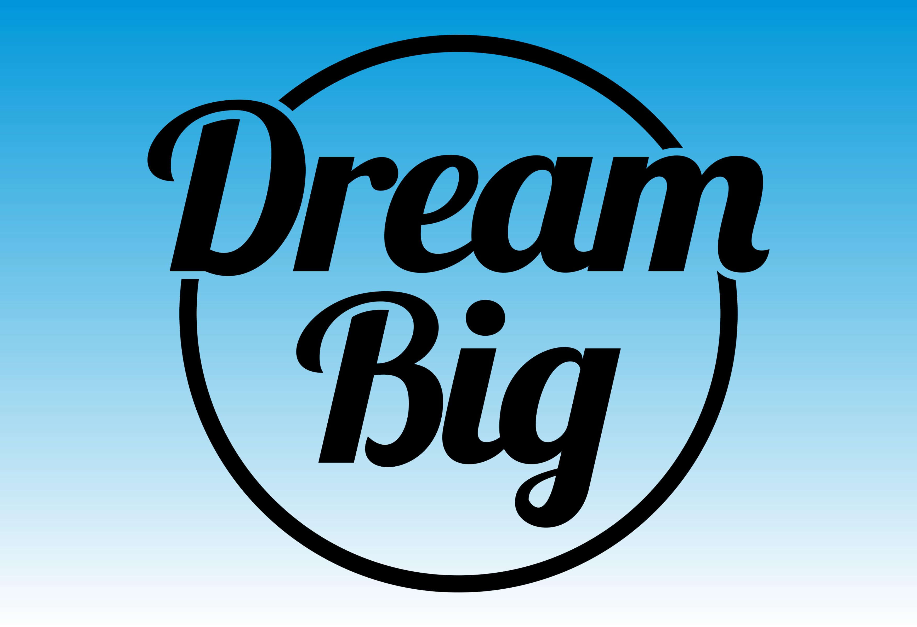 Download Free Dream Big Graphic By Designclusters Creative Fabrica for Cricut Explore, Silhouette and other cutting machines.