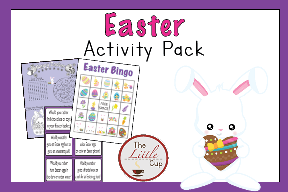 Download Free Easter Activity Pack Graphic By Marie9 Creative Fabrica for Cricut Explore, Silhouette and other cutting machines.