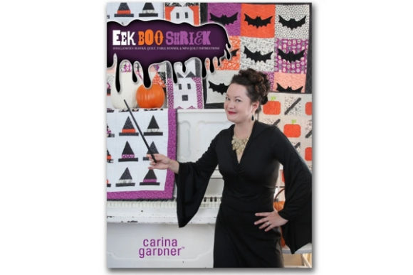 Eek Boo Shriek Graphic Quilt Patterns By carina2